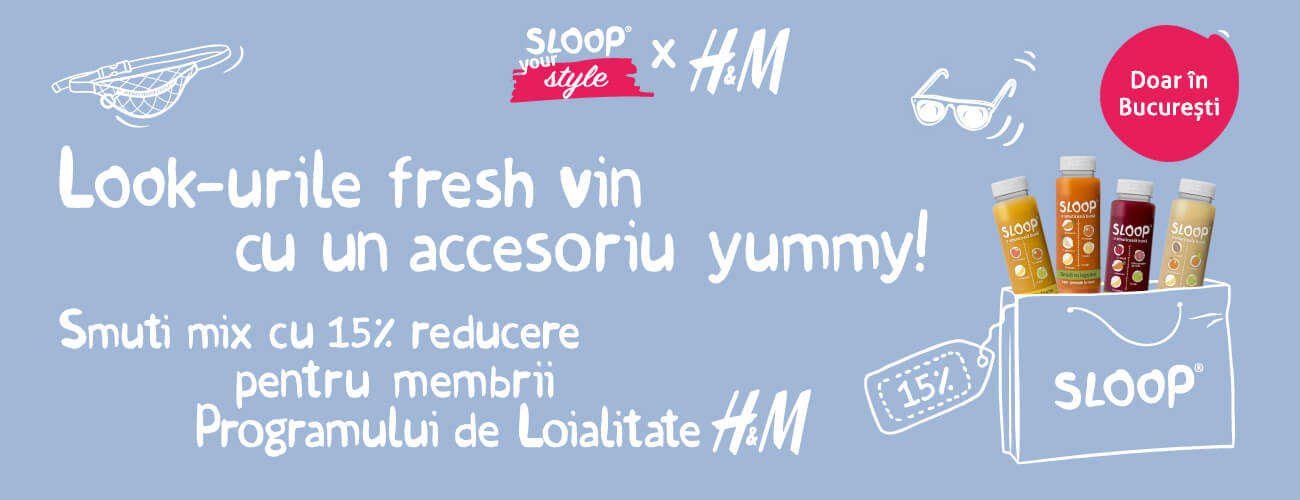 Sloop pachet h&M