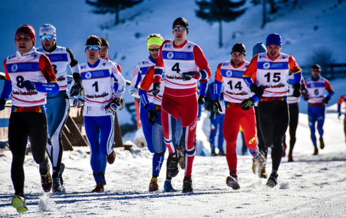 Campionatul European de Winter Triathlon de la Cheile Grădiștei