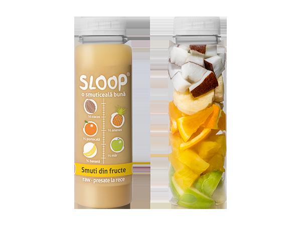 Smuti din fructe - cocos ananas