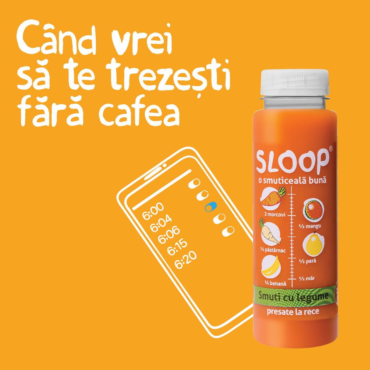 Fara cafea - Smuti natural cu legume